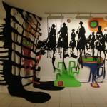 """Exposition """"L'un nourrit l'autre"""", festival Chaud les marrons! galerie Lillebonne, Nancy, 18/11/2010-18/12/2010."""